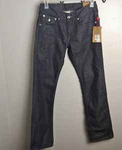 True Religion straight flap pocket jeans